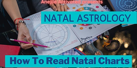 Natal Astrology: How To Read Natal Charts tickets