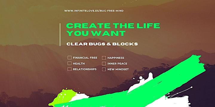 Creating a BUG FREE MIND Workshop & Networking Event image