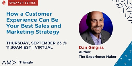 How A Customer Experience Can Be Your Best Sales and Marketing Strategy tickets