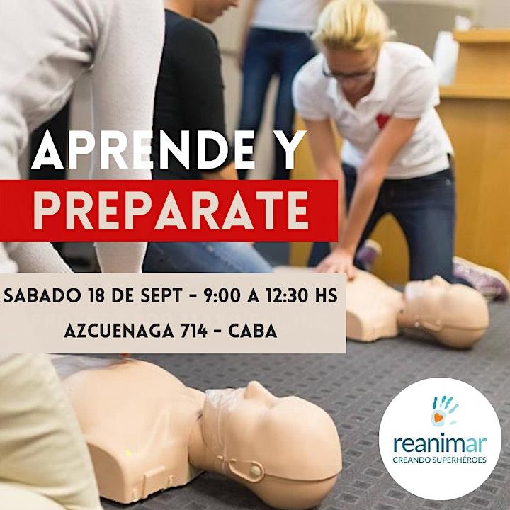 Imagen de 18.09 Curso de RCP y Primeros Auxilios - Presencial CABA