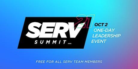 SERV Summit tickets