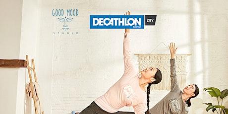 Lezioni di Yoga con Decathlon City - weekend biglietti
