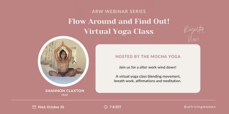 Flow Around & Find Out: Virtual Yoga Session tickets