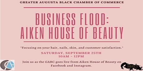 Business Flood: Aiken House of Beauty tickets