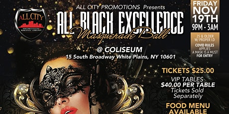 ALL BLACK EXCELLENCE Masquerade Ball tickets
