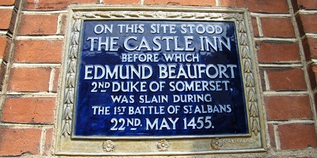 Walking Tour - Shakespeare in Battle - St Albans and Henry VI tickets