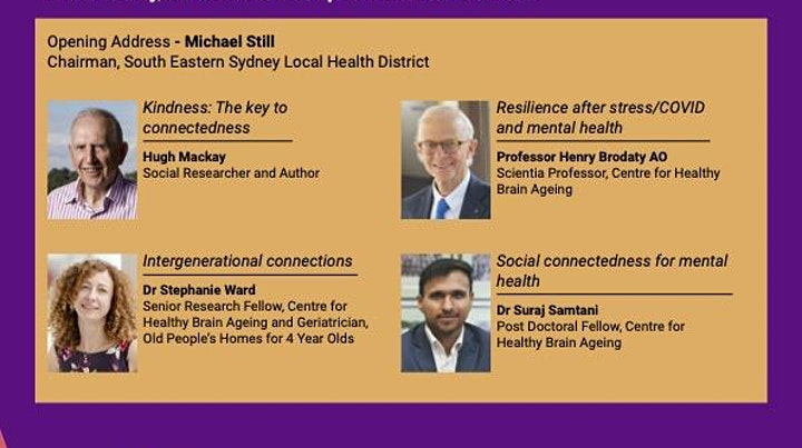 KEEPING CONNECTED: Social health and ageing image