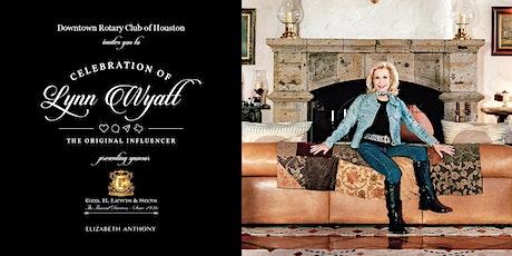 Celebration of Lynn Wyatt: The Original Influencer tickets