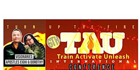 TAU- TRAIN ACTIVATE UNLEASH tickets