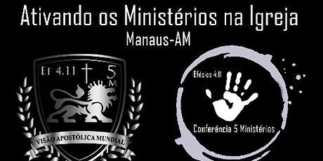 Conferência 5 Ministérios ingressos