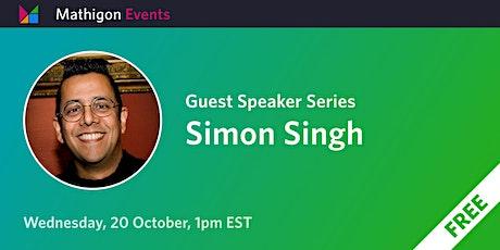 Simon Singh - Guest Speaker Series biljetter