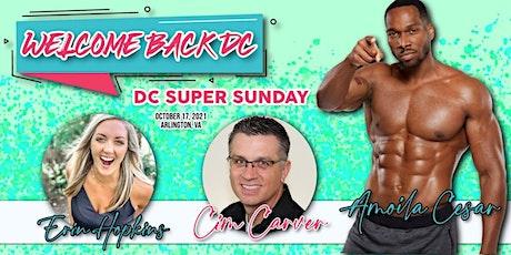 DC Region October 17, 2021 Super Sunday tickets