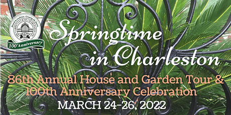 Springtime in Charleston 2022 tickets