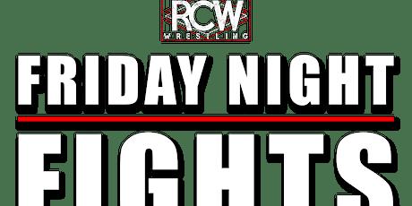RCW Friday Night Fights: Edmonton tickets