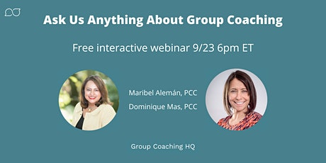 Ask Us Anything About Group Coaching tickets