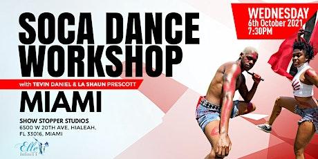 MIAMI: Soca Dance Workshop with Tevin Daniel & La Shaun Prescott tickets