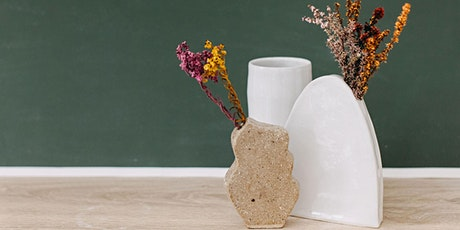Not Yet Perfect Pottery - Vases Hand Building Workshop tickets