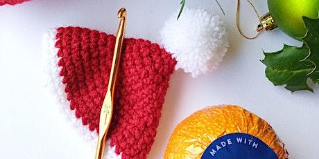 Crochet at Christmas - Chocolate Orange Santa Hats tickets