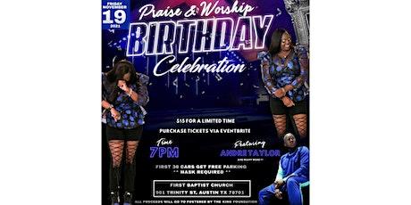 Erica's Praise and Worship Birthday Celebration tickets