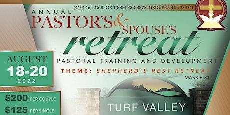UCJC Pastor & Spouse Retreat tickets