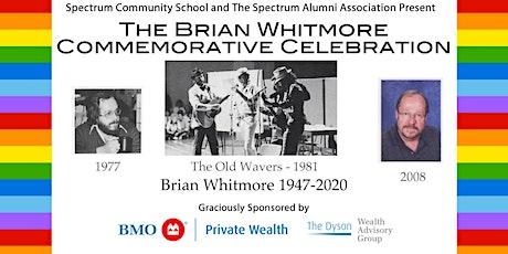The Brian Whitmore Commemorative Celebration tickets