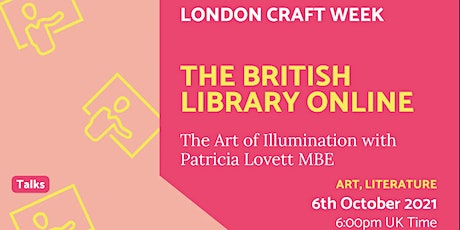 The British Library Online | (Wed Oct 6th) 06.10.21 tickets