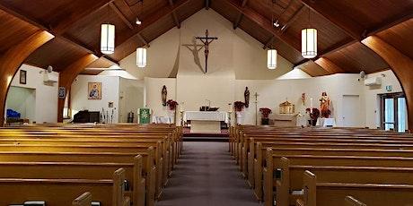 Saturday 5:00 p.m.  Vigil Mass - St. John the Evangelist - Weston tickets