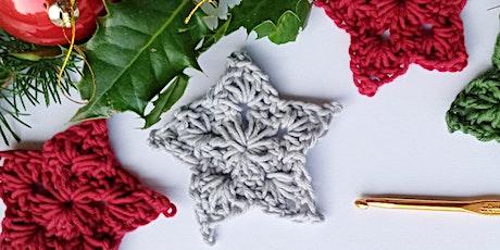 Crochet at Christmas - Festive Star Decorations tickets