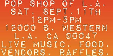 POP SHOP OF L.A. tickets