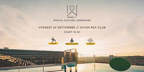 Enjoy the sunset energy @ Otium Pea Club Vinyasa Yoga with Stefania Avolese biglietti