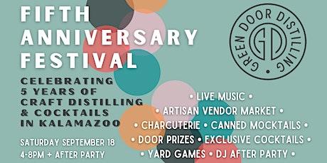 Green Door Fifth Anniversary Festival tickets