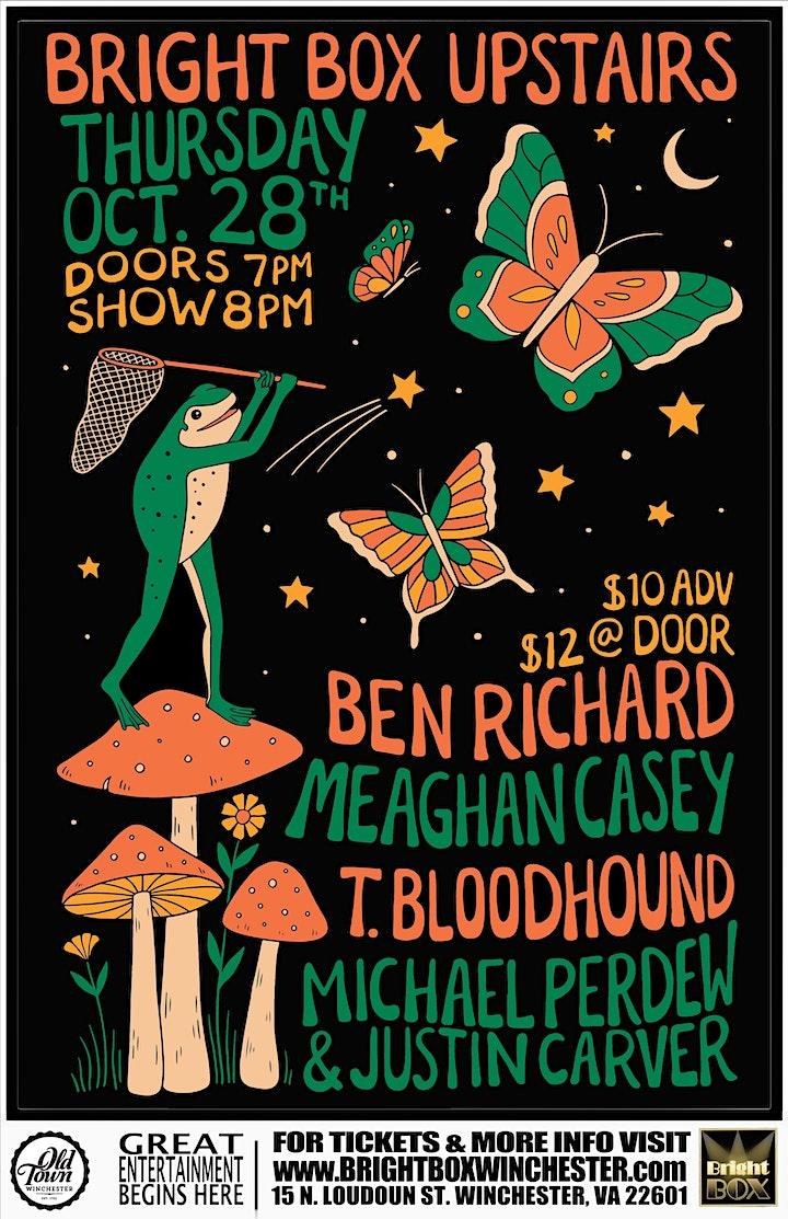 T. Bloodhound / Michael Perdew+Justin Carver / Meaghan Casey / Ben Richards image