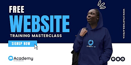 FREE WEBSITE TRAINING FOR UNDERGRADUATES, YOUTH CORPERS AND BUSINESS OWNERS tickets