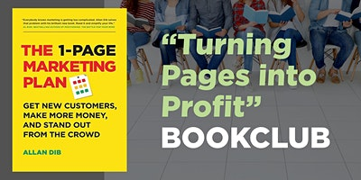 October-November BookCLUB – The 1-Page Marketing Plan