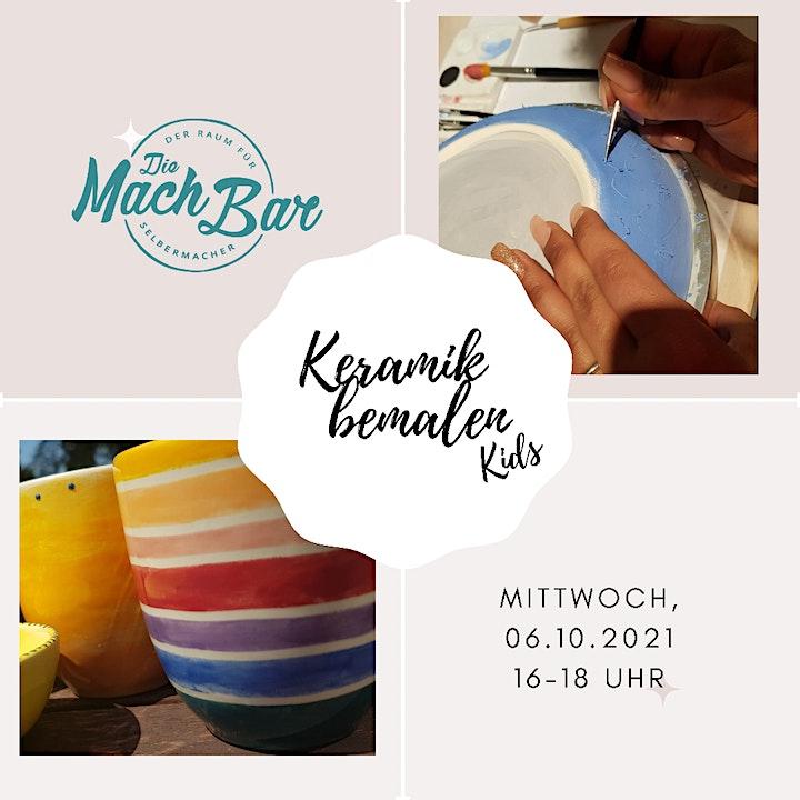 Keramik bemalen: Bild
