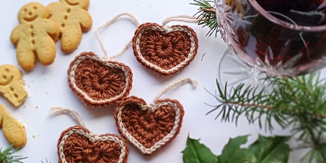 Crochet at Christmas ONLINE - Gingerbread Decorations tickets