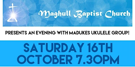 Madukes concert  Saturday 16th October tickets
