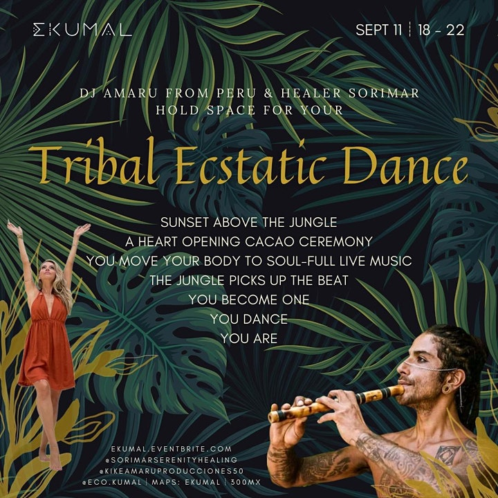 Tribal Ecstatic Dance - Wind and Fire Portals image
