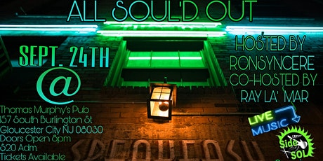 All Sould Out Speakeasy Series tickets