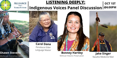 Listening Deeply: Indigenous Voices Panel Discussion tickets