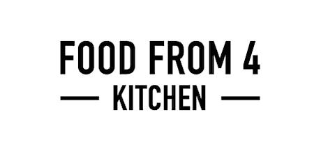 FoodFrom4 Cookery Class: Gourmet Vegan tickets