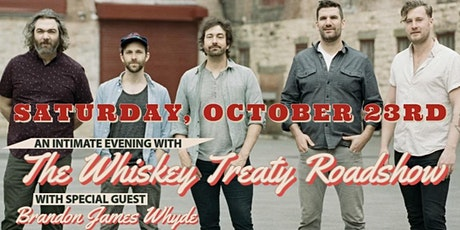 Whiskey Treaty Roadshow with special guest Brandon Whyde tickets