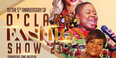 Oclara African Fashion Show 2021-5th Anniversary tickets