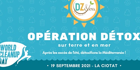 Opération Détox - sur terre et en mer (WCUD) billets