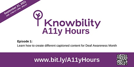 Knowbility Office Hours tickets