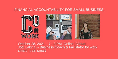 Financial Accountability for Small Business tickets