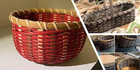 Weaving Baskets at Rainy Day Yarns tickets