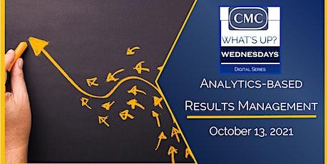 CMC Analytics-Based Results Management (ARM) boletos