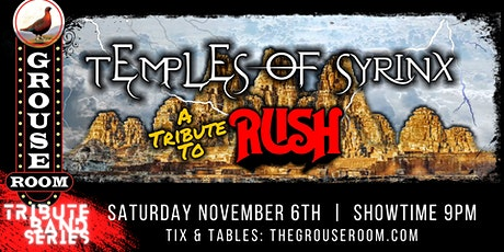 TEMPLES OF THE SYRINX:A TRIBUTE TO RUSH tickets