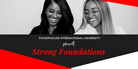 Strong  Foundations tickets